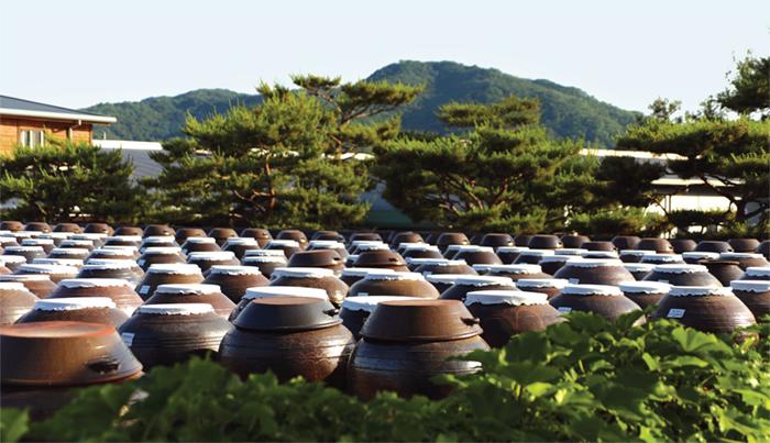 jangdokdae soy jar terrace an area outside the kitchen. Black Bedroom Furniture Sets. Home Design Ideas